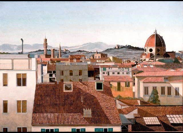 <em>Gabriel Laderman, View of Florence, 1962-63</em>  Larry Groff publishes a tribute to painter Gabriel Laderman (1929-2011)