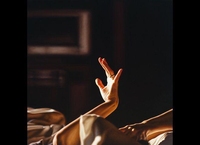 Damian Loeb, Atmosphere (Warm Fingers), 48inx48in Oil on Linen 2010