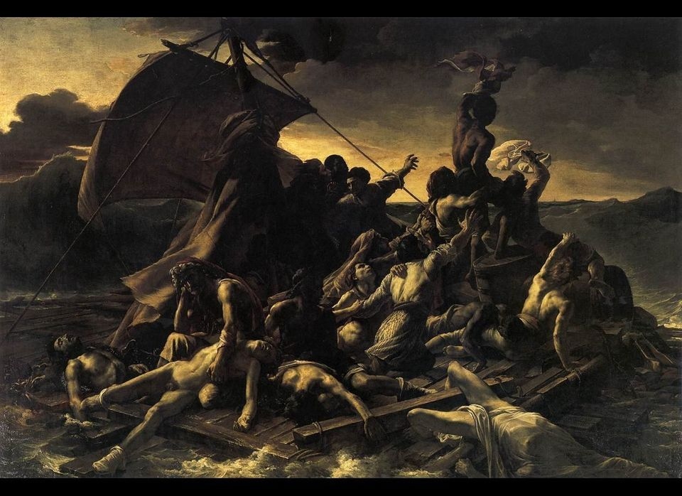 """The Raft of The Medusa"" Therodore Gericault 1819"
