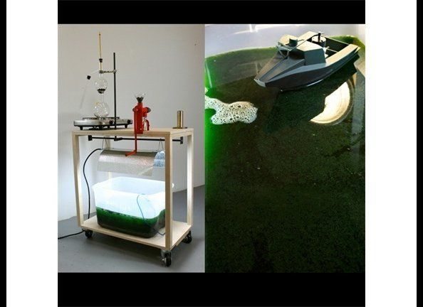 <strong><em>Processing Station II (with inclusion of SAIC powered riverine)Chlorella (algae), algal oil, algal biodiesel, wat