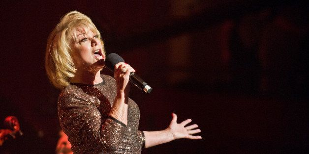LONDON, UNITED KINGDOM - OCTOBER 20: Elaine Paige performs on stage at Royal Albert Hall on October 20, 2014 in London, Unite