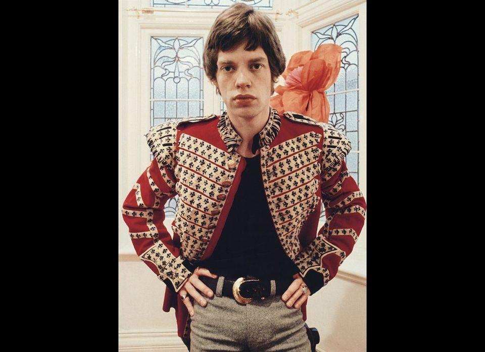 Mick Jagger, 1967. Photograph by Colin Jones  © Colin Jones
