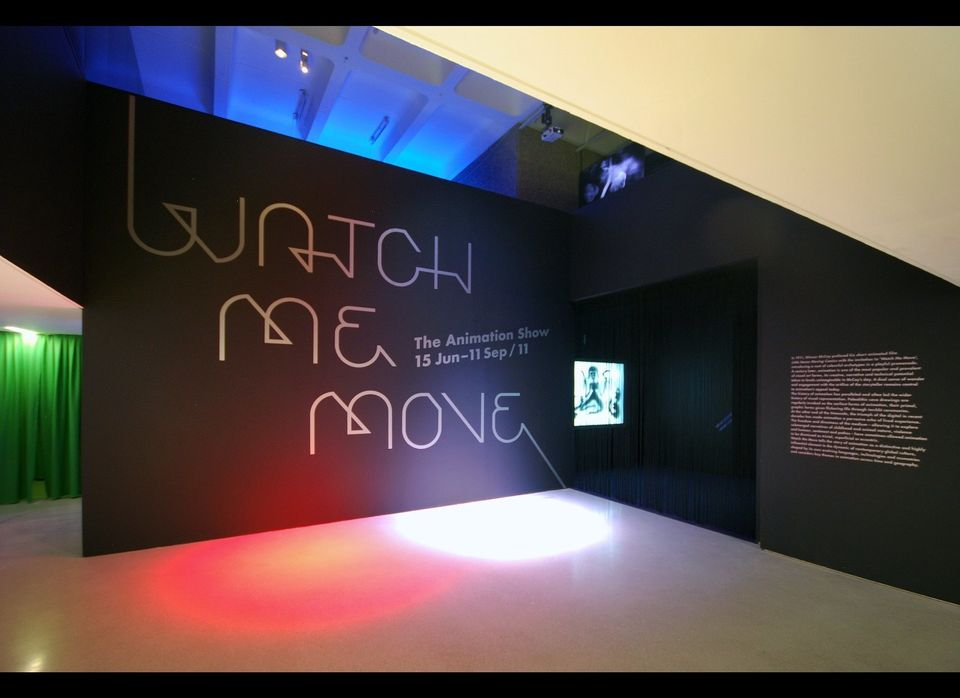 Watch Me Move: The Animation Show 15 June - 11 September 2011 Barbican Art Gallery, London  Photo credit: Lyndon Douglas