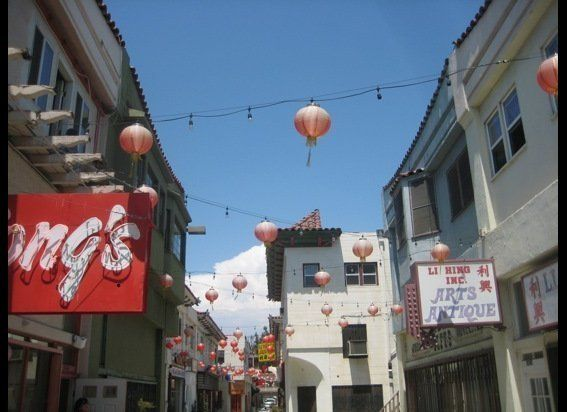 LA's Chinatown has seen artist studios thriving amidst the gift shops and art galleries.