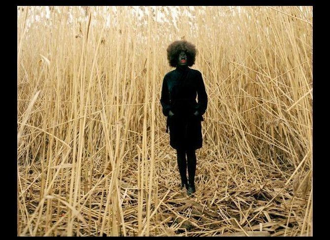 One Day and Back Then (Standing) by Xaviera Simmons, 2007