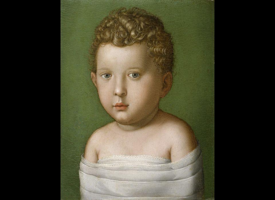 Agnolo Bronzino <em>Portrait of a Baby Boy</em>