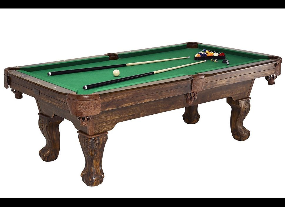 A pool table sure would look good in the den or the basement, wouldn't it?  At Sam's Club, billiards tables go for as little