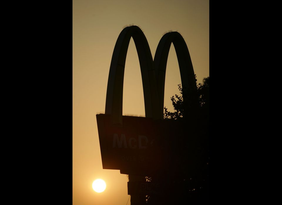 McDonald's ended the year up 35.30 percent in the Dow Jones Industrial Average, according to PR Indexes.