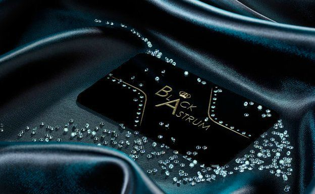 Black Astrum Premieres Worlds Most Expensive Business Cards