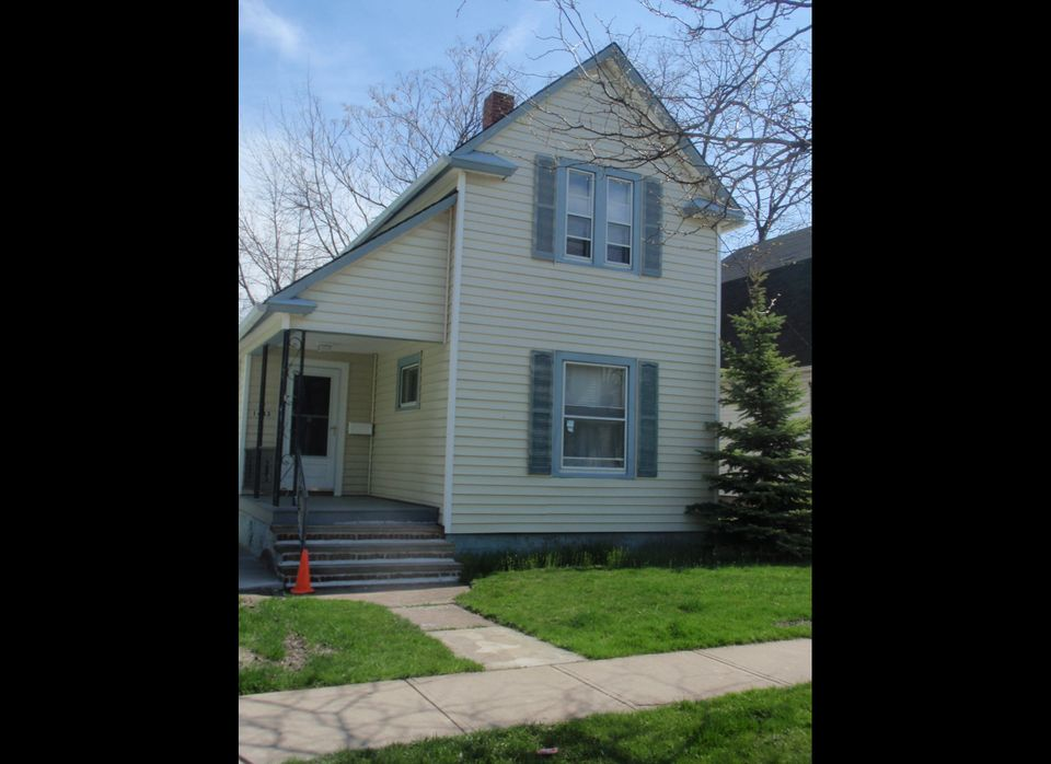 The Rai family, political refugees from Bhutan, are preparing to move into this 3-bedroom home in suburban Cleveland.