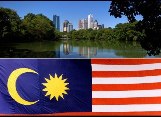 <strong>Atlanta GMP in 2011 (in billions):</strong> $283.8 <strong>Malaysia GDP in 2011 (in billions):</strong> $278.7