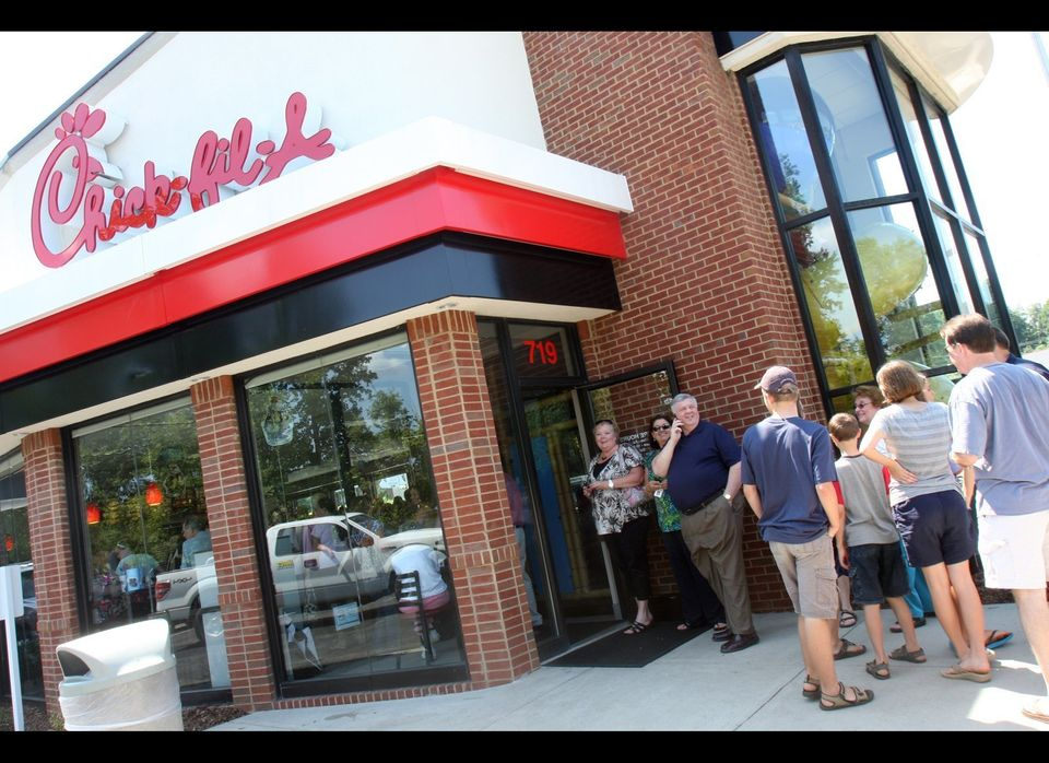 "After it was discovered that <a href=""https://www.huffpost.com/entry/chick-fil-a-anti-gay-group-donations-_n_1644609"" target="