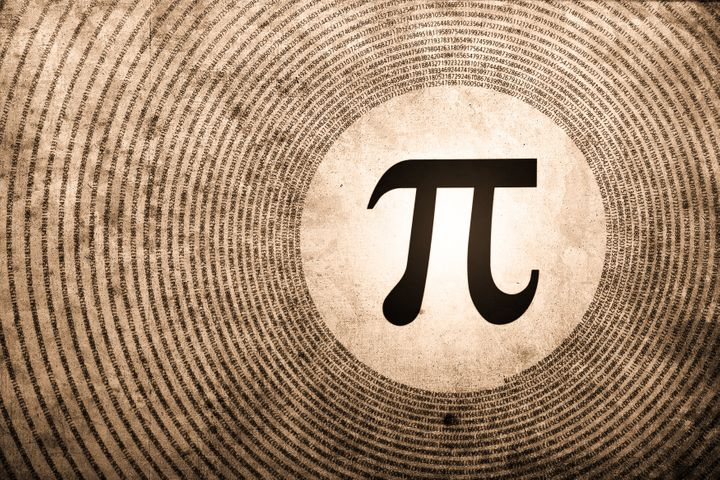 pi symbol is the largest number ...