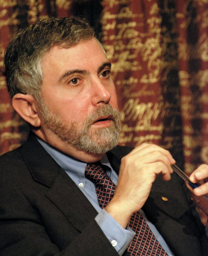 Description Paul Krugman, Laureate of the Sveriges Riksbank Prize in Economic Sciences in Memory of Alfred Nobel 2008 at a pr