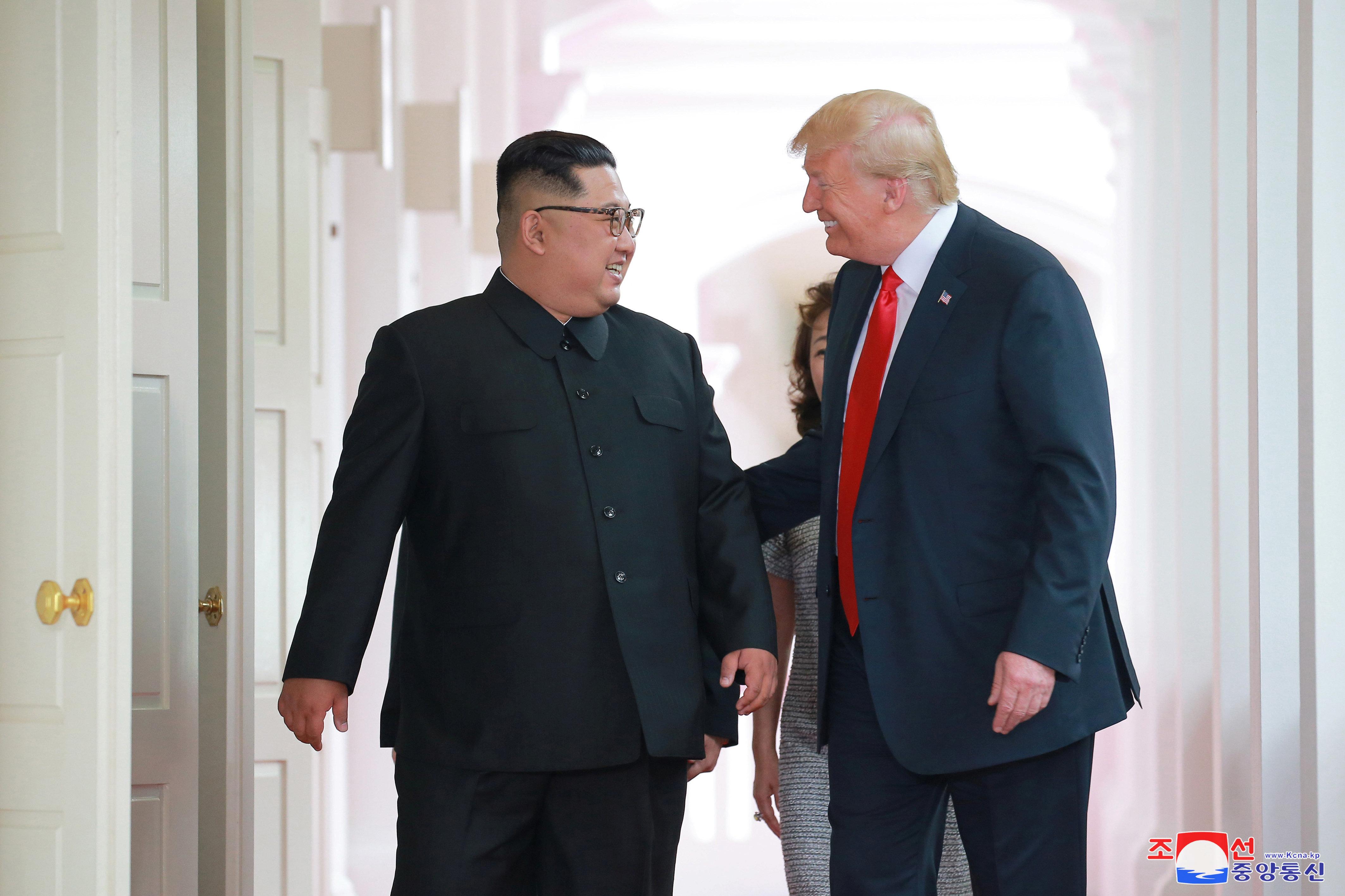 Colbert Spoof Imagines Kim Jong Un's Response To Trump's Weird Love