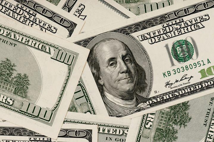 money background heap of...