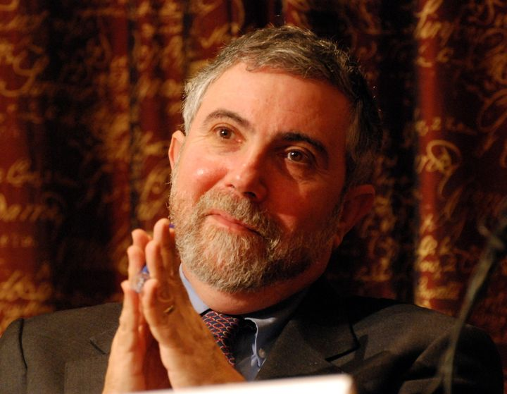 Description Paul Krugman, Laureate of the Sveriges Riksbank Prize in Economic Sciences in Memory of Alfred Nobel 2008 at a pr