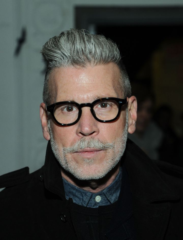 NEW YORK, NY - FEBRUARY 12:  Nick Wooster attends the Michael Bastian fall 2013 fashion show during Mercedes-Benz Fashion Wee