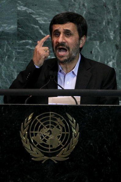 """Whoever talks of war against Iran <a href=""https://www.huffpost.com/entry/ahmadinejad-netanyahu-un-bomb-prop_n_1932783?utm_h"
