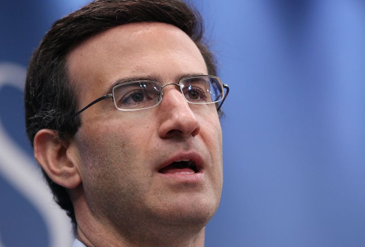 WASHINGTON - JULY 28: Peter Orszag, Director of the Office of Management and Budget speaks at the Brookings Institution July