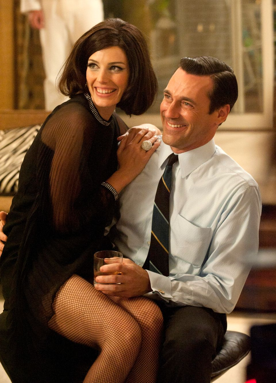Anyone who's watched <em>Mad Men</em> knows that there's no shortage of office flings, affairs, hook-ups and marriages. Take