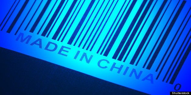 made in china and barcode ...