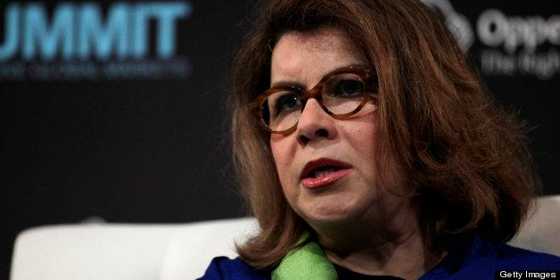 Carmen Reinhart, a professor at Harvard University, speaks at the Bloomberg Markets 50 Summit in New York, U.S., on Thursday,