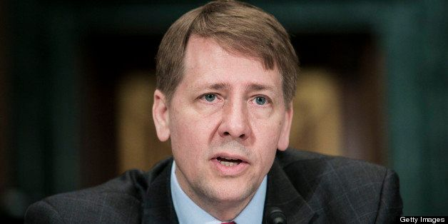 WASHINGTON, DC - MARCH 12:  Richard Cordray, nominee for director of the Consumer Financial Protection Bureau, testifies at a