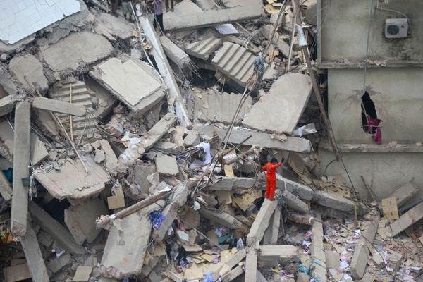 Bangladesh Building Collapse: Death Toll At Garment Factory