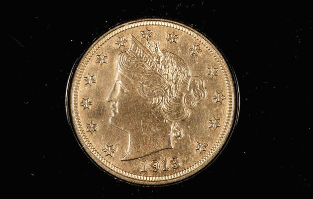 1913 Liberty Head Nickel Sells For $3 1 Million At Auction