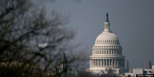 The U.S. Capitol stands in Washington, D.C., U.S., on Tuesday, April 9, 2013. Less than a week after job-creation figures fel