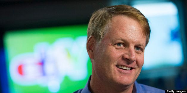 John J. Donahoe, president and chief executive officer of EBay Inc., speaks during an interview at the company's headquarters