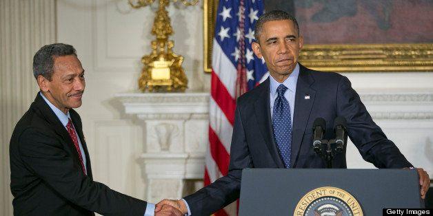 Representative Mel Watt, a Democrat from North Carolina and U.S. President Barack Obama's nominee as director of the Federal