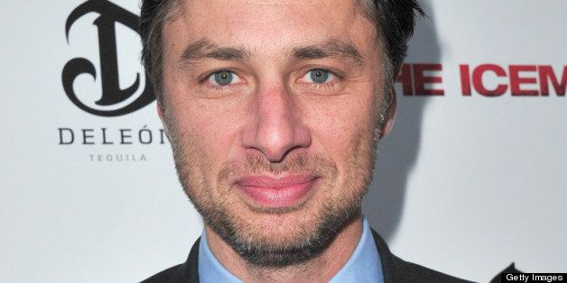 HOLLYWOOD, CA - APRIL 22:  Actor Zach Braff attends the premiere of Millennium Entertainment's 'The Iceman' at ArcLight Holly