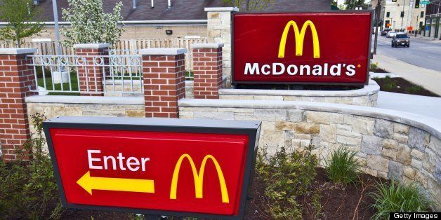 BATAVIA, IL -  MAY 12:  McDonald's, in Batavia, Illinois on MAY 12, 2013.  (Photo By Raymond Boyd/Getty Images)