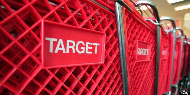 CHICAGO - MAY 23:  Shopping carts sit inside a Target store on May 23, 2007 in Chicago, Illinois. Today, Target Corp. reporte