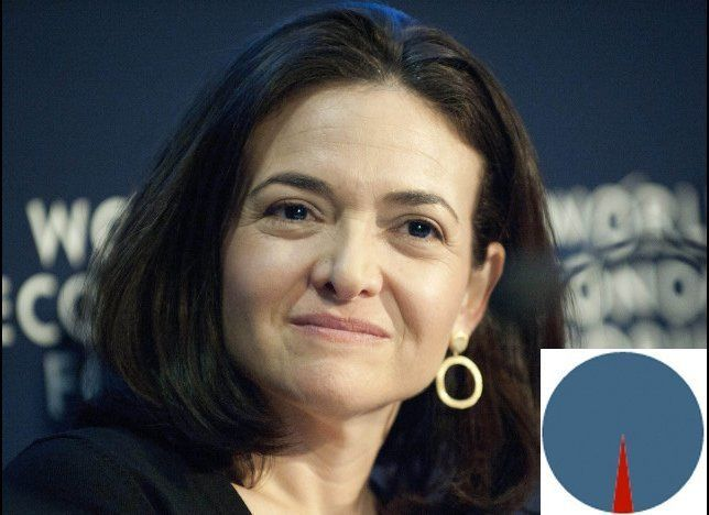 Chief operating officer of Facebook.