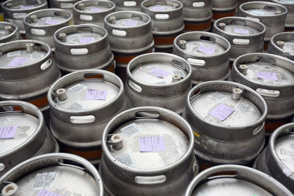 34.0 gallons of beer consumed per person in 2012