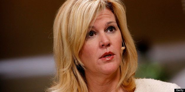 Meredith Whitney, a banking analyst and chief executive officer of Meredith Whitney Advisory Group, speaks during a Bloomberg