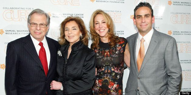 NEW YORK, NY - NOVEMBER 15:  Samuel Waxman, Marion Waxman , Elin Nierenberg and Michael Nierenberg attend the 15th Annual Sam