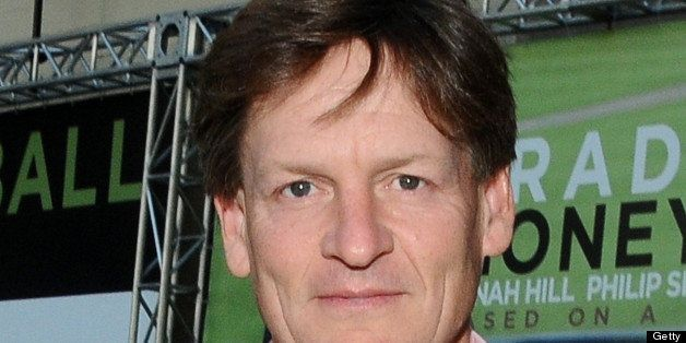 OAKLAND, CA - SEPTEMBER 19: Michael Lewis arrives at the 'Moneyball' Oakland premiere at The Paramount Theatre on September 19, 2011 in Oakland, California. (Photo by Araya Diaz/WireImage)