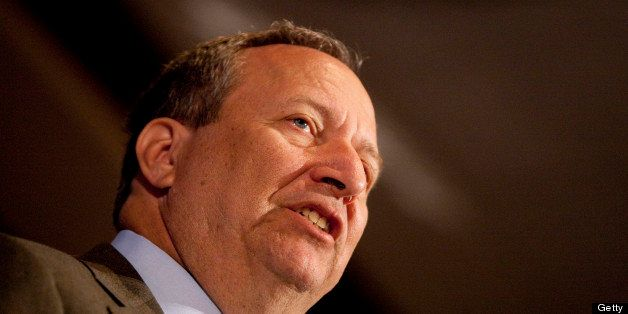 Lawrence 'Larry' Summers, director of the U.S. National Economic Council, speaks during a conference...