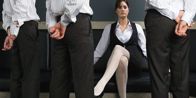 Female boss sexually harassing me
