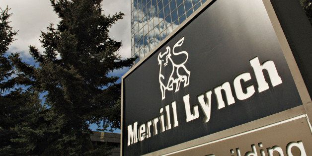 UNITED STATES - AUGUST 25:  A Merrill Lynch sign is pictured outside an office building in Anchorage, Alaska, Thursday, Augus