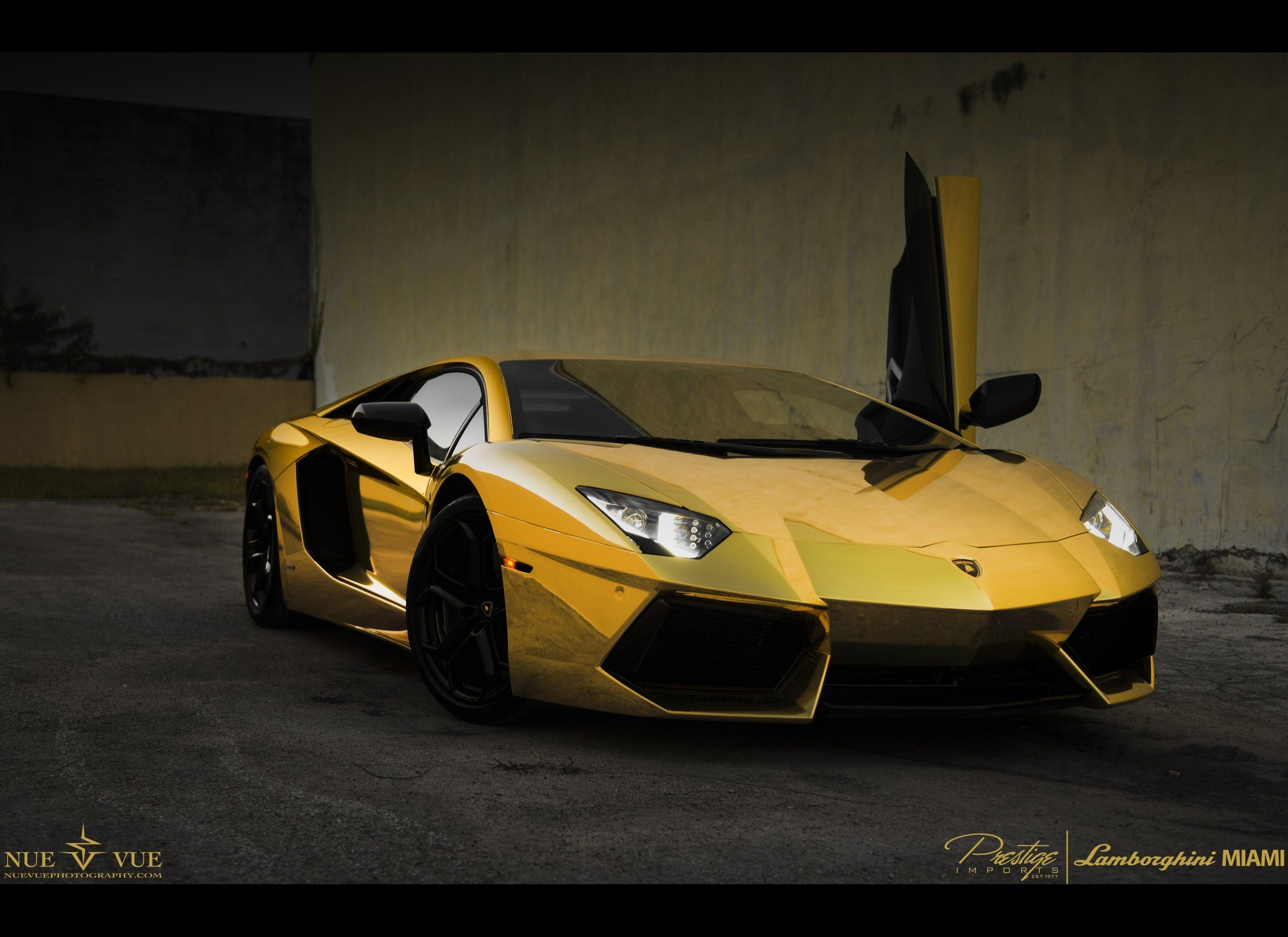 This Gold,Plated Lamborghini Model Car Will Set You Back