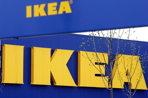 Ikea has a no arms policy that's posted in its stores, according to a company spokesperson.