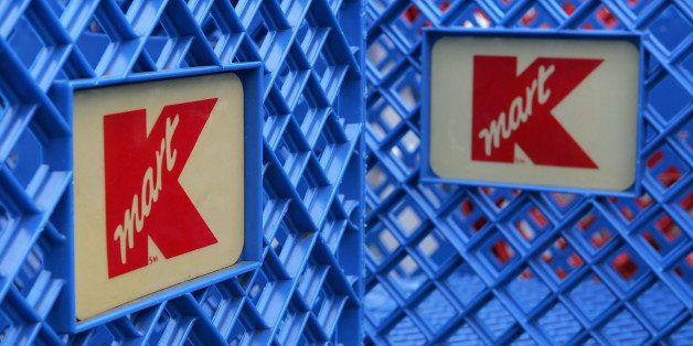 SAN MATEO, CA - MARCH 24:  Shopping carts with  the K-Mart logo are seen at a K-Mart store March 24, 2005 in San Mateo, Calif