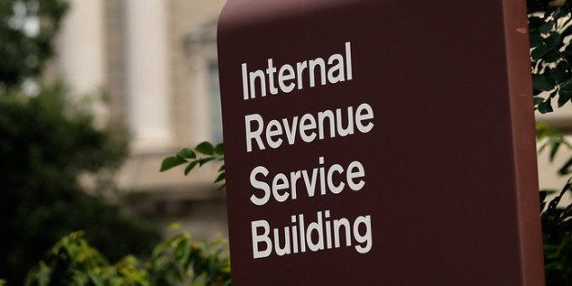 WASHINGTON, DC - JULY 22:  The Internal Revenue Service Building is shown July 22, 2013 in Washington, DC. Due to current sho