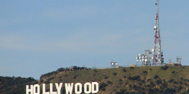 The Hollywood sign on Mount Lee looks south to Hollywood in Los Angeles, California. (Marjie Lambert/Miami Herald/MCT via Get