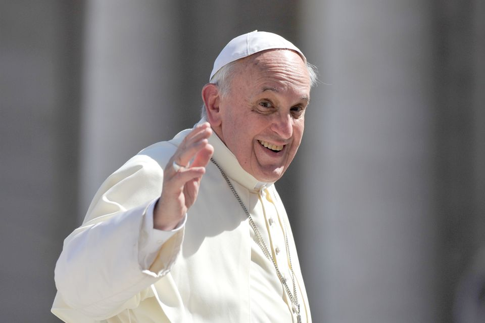 """Who am I to judge a gay person?""  <a href=""https://www.huffpost.com/entry/pope-francis-gays_n_3669635"" target=""_blank"">Read"